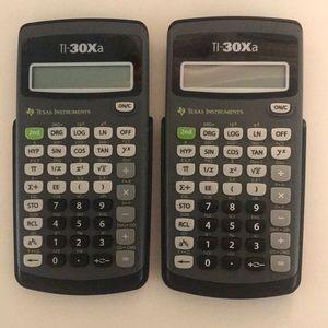 Texas Instruments TI-30Xa Calculators